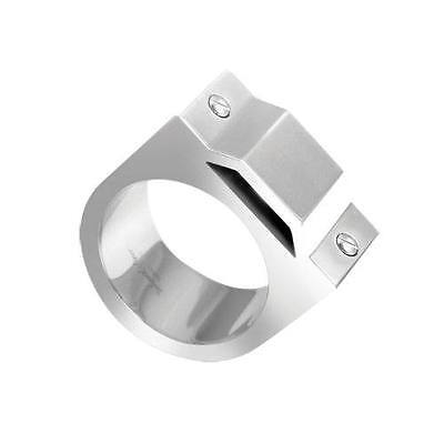 Wholesale Joblot of 5 Mens Accessories Black Dice Silver plated Industries Rings