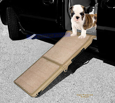 "Pet Gear Indoor/Outdoor Bi-Fold Half Ramp 42"" PG9050TN"