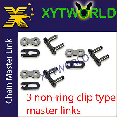 JLC-420H NON RING Master Joint Joining Link CLIP TYPE FOR #420 CHAIN Motorcycle
