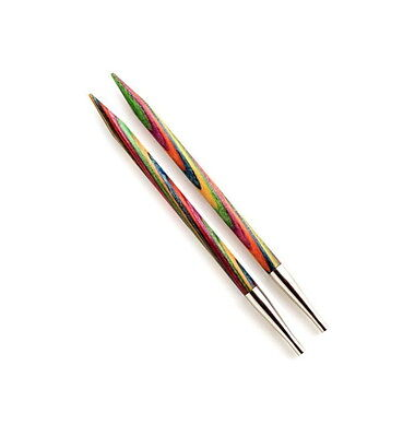 KnitPro Symfonie Wood Interchangeable Needle Short Tips Shorter 10cm Length