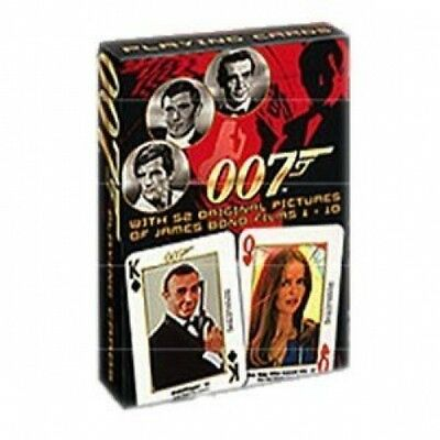 James Bond 007 Playing Cards First Series Red Box