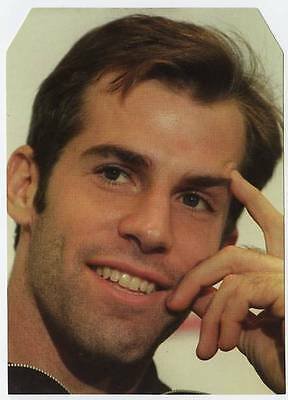 Scarce Trade Card of Greg Rusedski, Tennis 1997