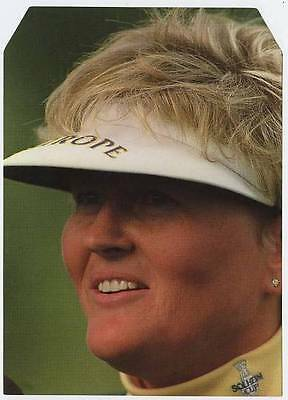 Scarce Trade Card of Laura Davies, Golf 1997