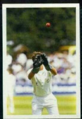 Scarce Trade Card of Bruce French, Cricket 1986