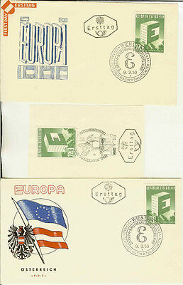 Europa First Day Covers Countries A--P