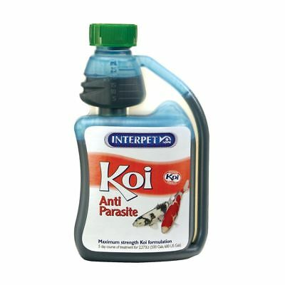 Interpet Koi Anti Parasite 250ml Koi Pond Treatment