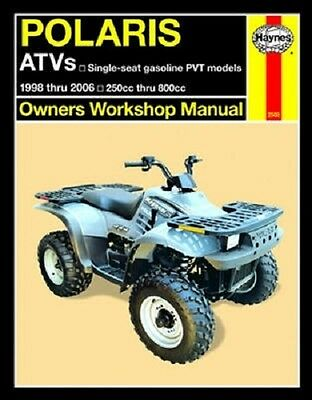haynes service manual polaris sportsman  haynes service manual polaris 2508 sportsman 500 1998 1999 2000 2001 2004