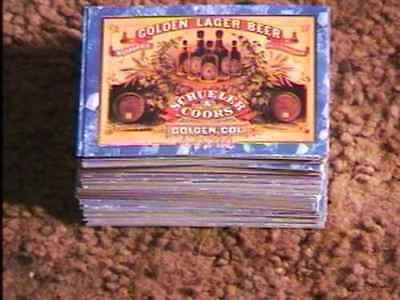 Coors Brewing Trading Card Set Beer Collectible