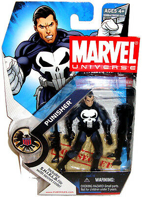 Marvel Universe Punisher Action Figure MOC Series 1 #020 RARE Toy S.H.I.E.L.D.