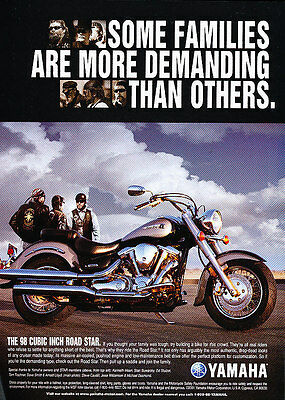 2000 Yamaha Road Star Motorcycle Classic Vintage Advertisement Ad A7-B