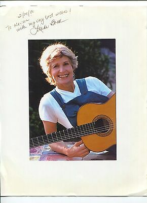 Linda Book Childrens Musician Singer Songwriter Signed Autograph Photo