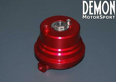 Spring Housing Cap for our 60mm External V Band Wastegate (Red)