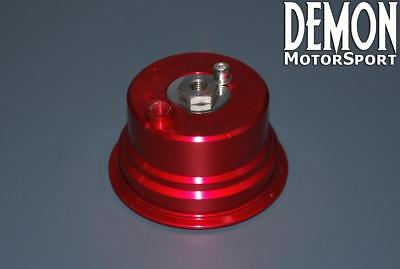 Spring Housing Top Cap for our 60mm External V Band Wastegate (Red)