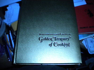 Better Homes & Gardens GOLDEN TREASURY OF COOKING 1973 1ST ED. 1ST Printing NICE