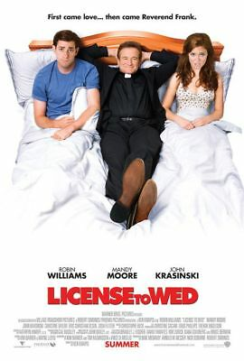 License To Wed - original DS movie poster - Moore