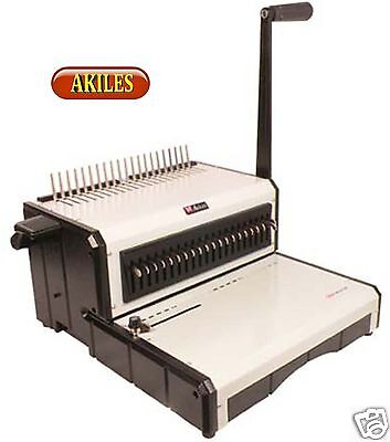 Akiles AlphaBind-CM Comb Binding Machine & Punch 12-inch [New]
