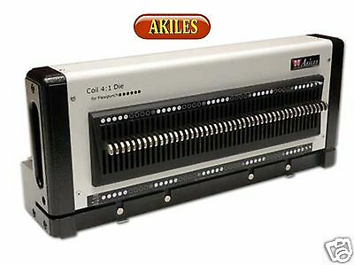 4:1 Die for Akiles FlexiPunch machines for Coil binding with Round Holes ( New )