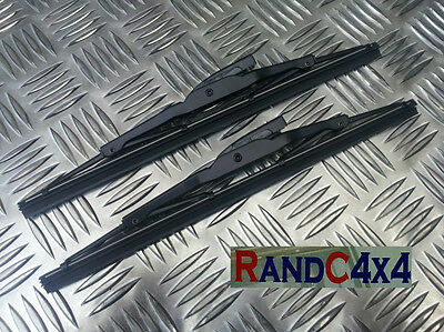 PRC1330 x2 Land Rover Series 2 2a 3 sprung type wiper blades set pair (2)