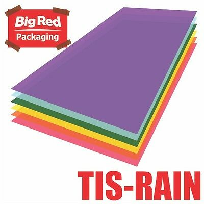 480 x sheets Rainbow 6 Colours Tissue Paper Ream Gift Wrap Wrapping Coloured