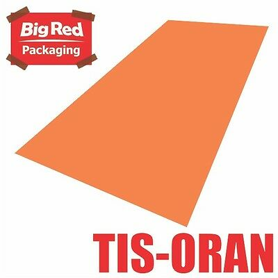 480 x sheets Orange Colour Tissue Paper Ream Gift Wrap Wrapping Bright Coloured