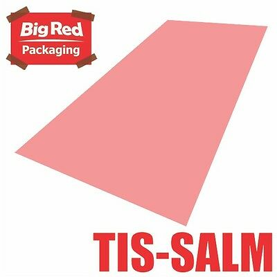 480 x sheets Salmon Pink Colour Tissue Paper Ream Gift Wrapping Bright Coloured
