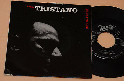 Lennie Tristano Ep Jazz 1°St Italy '60 Laminated Cover