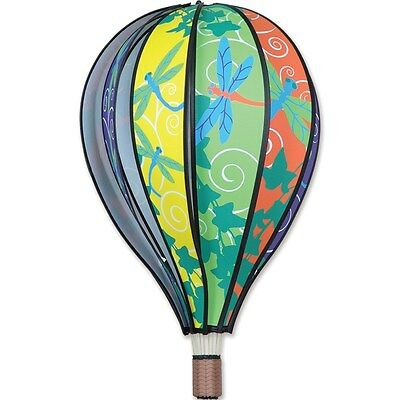 Dragonflies Hot Air Balloon Shape Hanging Wind Spinner 22 Long 23