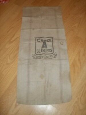 Vintage Chase A Seamless Extra Quality Feed Seed Sack good for decor