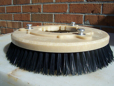 "12"" Nylon Brush Set Fit Minuteman/nilfisk/advance/nss/nobles/tennant/power Boss"