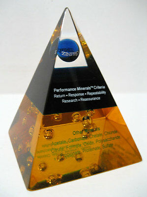 Zinpro ® Desktop Advertising Promotional Pyramid for Pet Animal Mineral Products
