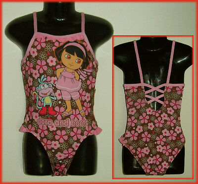 DORA ~ Girls SWIMWEAR / BATHERS / TOGS -Choose Sz 4 5 6 7 8 -Gorgeous Floral NEW