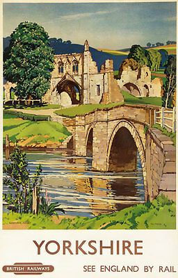 TX134 Vintage St Albans Route 84 England Classic Travel Poster Re-Print A3