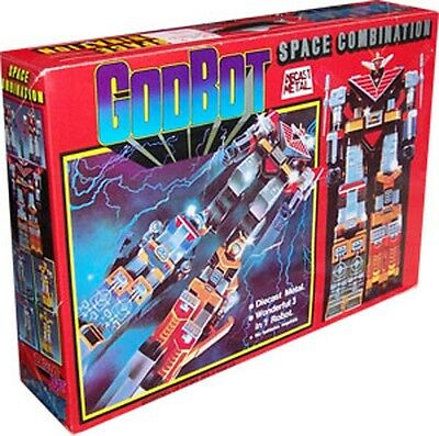Godbot Space Combination 1980 Die Cast Taiwan Voltron