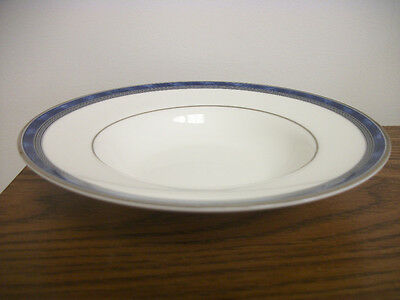 "2 Royal Doulton ""Atlanta"" Rimmed Soup Bowls"