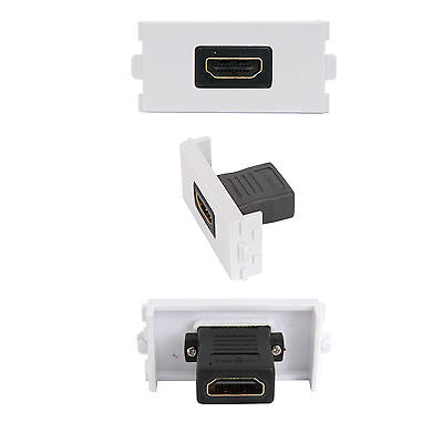 Hdmi Female Socket Module/modular Wall Face Plate Outlet - 3D High Speed V1.4