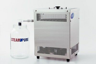 NEW SteamPure PD Stainless Steel Counter Top Pure Water Distiller Steam Pure