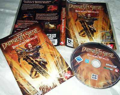 Dugeon siege II BROKEN WORLD expansion  quality Rpg  sought after title VGC