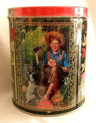COLLECTORS' TIN with PUZZLE - COCA-COLA SPECIAL EDITION - Made in U.S.A.