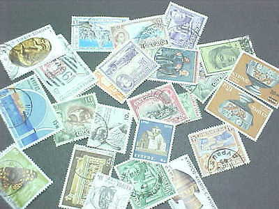 25 Different Cyprus Stamp Collection - Lot
