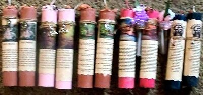 """ONE """"Healing""""  pillar Candle spell - Wicca, Pagan"""
