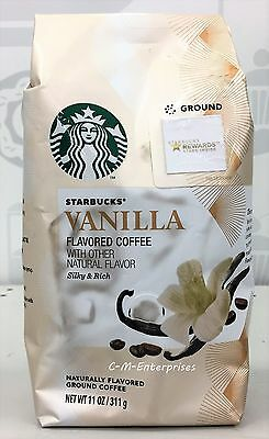 Starbucks Vanilla Naturally Flavored Ground Coffee 11 oz