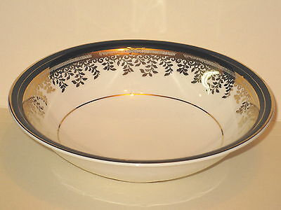 MYOTT - Royalty - COBALT BLUE BAND - #1559 - Cereal Bowl - GOOD - 20A