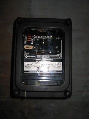 GE 12IAC57A12A Time Overcurrent Relay Special 60Hz 1.5-6Amp General Electric IAC