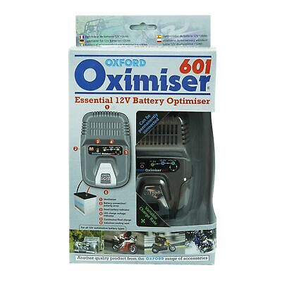 Oxford Oximiser 601 Battery Charger Optimiser UK 12V Maximiser New - SALE