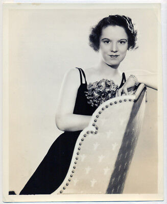 MARY DEITRICK original publicity photo 1936 OPERA SOPRANO