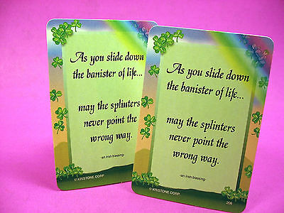 """As You Slide"" - 2 Verse Cards - SKU# 206"