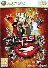 Microsoft Xbox live 360 Lips Party Classics game only new sealed