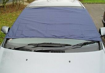 2 x WINDSCREEN FROST COVERS ANTI-FROST ICE PROTECTION SCREEN COVER NYLON CLOTH