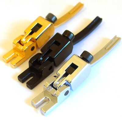 Single tremolo bridge saddles in chrome black or gold Low pro Floyd Rose guitar