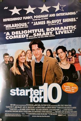 Starter For 10 - original DS movie poster -Review style